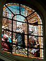 Chantilly (60), église N.D. de l'Assomption, vitrail - Saint Vincent de Paul (1891).jpg