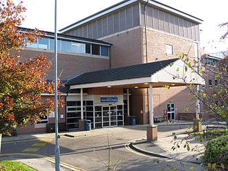 Chapel Allerton Hospital - Main Entrance