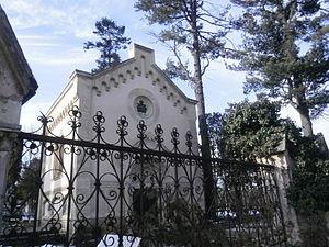 Hajongard cemetery - Bethlen family chapel at Hajongard cemetery