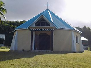 St. Anne Chapel, Inagoj Church in New Caledonia, France