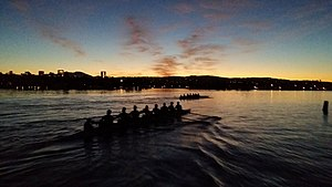 Mahantango Creek (Snyder and Juniata Counties, Pennsylvania) - Image: Chapman University Crew Team (2014)