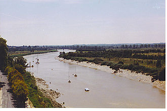 Charente (river) - The Charente in Tonnay-Charente