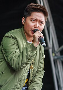 Jake Zyrus performing at the Barrio Fiesta in London, June 2016