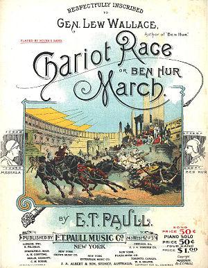 E. T. Paull - Image: Chariotrace 42st