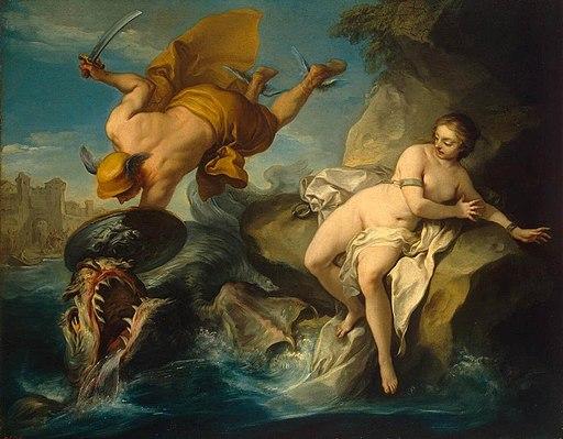 Charles André van Loo - Perseus and Andromeda - WGA13431