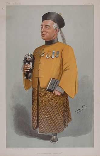 Lord Charles Beresford - Bersford caricatured by Cloister for Vanity Fair, 1899