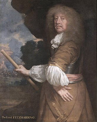 Charles Berkeley, 1st Earl of Falmouth - Charles Berkeley, Baron Berkeley of Rathdowne, County Wicklow and Viscount Fitzhardinge of Berehaven, County Kerry (1630-1665) (Peter Lely)