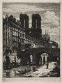 Charles Meryon - Etchings of Paris- Le Petit Pont - 1937.634 - Cleveland Museum of Art.tif
