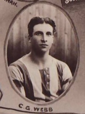 Charlie Webb - Pictured in 1910