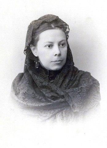 Н.В.Михайловская, 1895 год