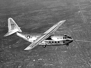 Chase XCG-20 - The second XG-20 (s/n 47-787) during flight trials.