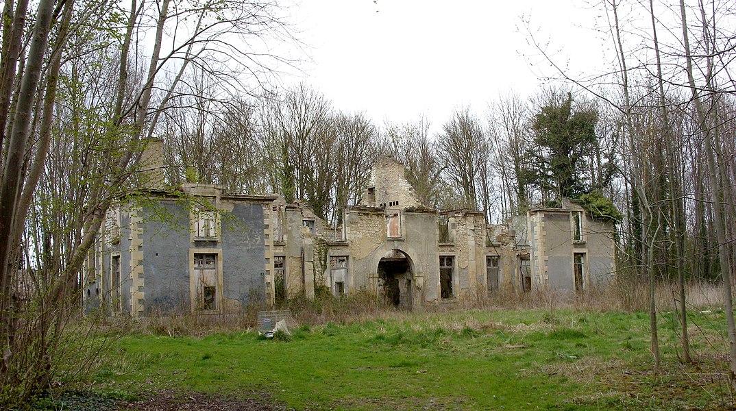 Château de la Malle à Saint Brice Courcelles