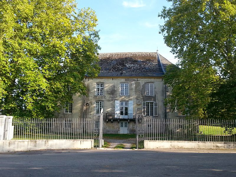Prise de vue du château de Lupcourt (54210), datant du début du XVIIIème siècle