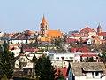 Chełmno - widok z skarpy .Kościół pw. św. Jakuba Starszego i św. Mikołaja (pofranciszkański) - panoramio.jpg