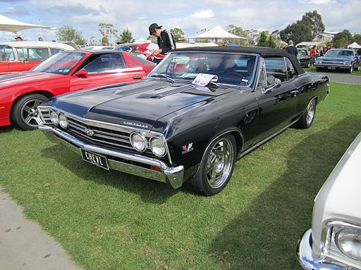 Black Chevrolet Chevelle Convertible SS396 1967, Ask 7 Experts 3 Questions, What's Your Dream Car