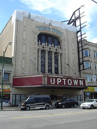 Movie palace - The Uptown Theatre in Chicago