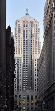 chicago board of trade building edificio ms alto de chicago de a