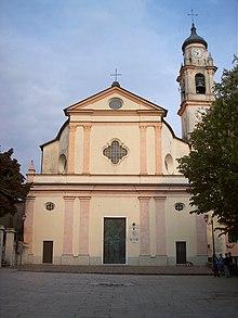 Facciata della chiesa di Santo Stefano