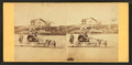Children in goat cart on beach, from Robert N. Dennis collection of stereoscopic views 2.png