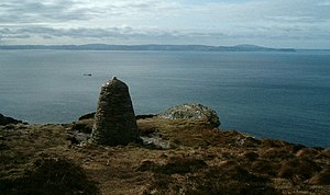 Chinook Monument, Mull of Kintyre. This is the...