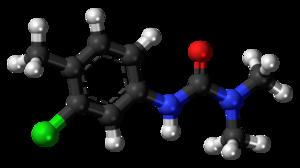 Chlortoluron - Image: Chlortoluron 3D ball