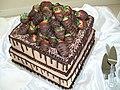 Chocolate Covered Strawberry Wedding Cake - panoramio.jpg