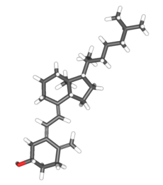 Chemical structure of Vitamin D