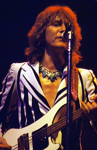 Chris Squire - Squire in August 1977