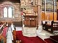 Christ Church, Silloth, pulpit - geograph.org.uk - 462406.jpg