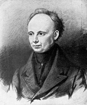 Christian Dietrich Grabbe - Lithograph, 1836