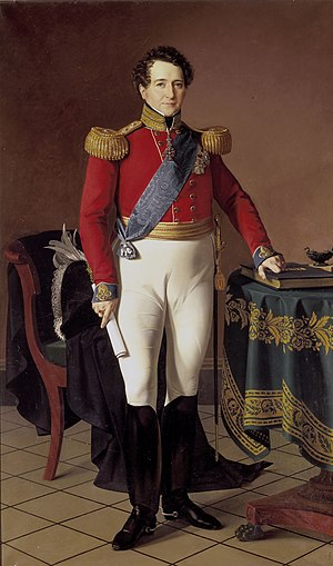 Christian VIII of Denmark - Portrait by Louis Aumont, 1831