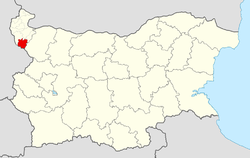 Chuprene Municipality within Bulgaria and Vidin Province.