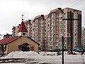 Church in Lošyca. Касьцёл у Лошыцы - panoramio.jpg