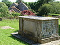 Church of All Saints Clapcott Table Tomb.JPG