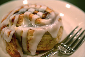 Cinnamon Roll from Schuler's Books Chapbook Ca...
