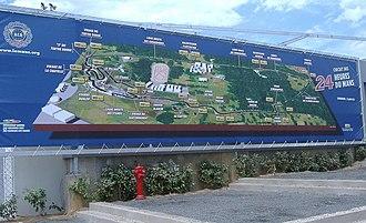 Circuit de la Sarthe - Image: Circuit De La Sarthe map