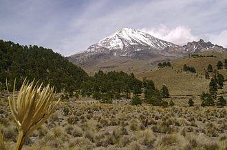 Pico de Orizaba - Northwest of Citlaltépetl