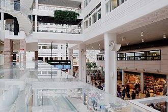 Cityterminalen - Image: Cityterminalen August 2011