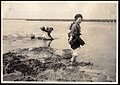 Clam digging on the Shore of Japan (1915 by Elstner Hilton).jpg
