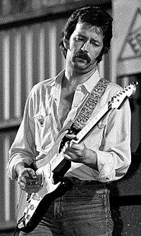 Eric Clapton, junio de 1977.