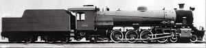 South African Class 19A 4-8-2 - Image: Class 19A no. 699