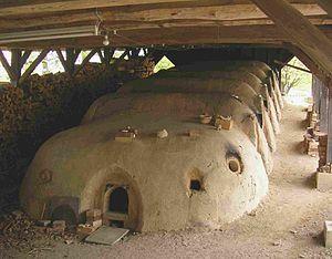 Dragon kiln - Japanese chambered version