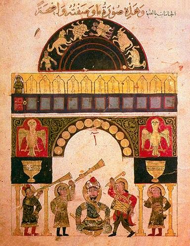 Clock of al Jazari before 1206