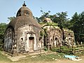 Cluster of three temples at Gholsai under Ghatal Police station in Paschim Medinipur district 06.jpg