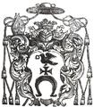Coat of arms of Bogusław Gosiewski Bishop of Smolensk.PNG