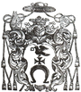 Coat of arms of Bogusław Gosiewski Bishop of Smolensk.PNG