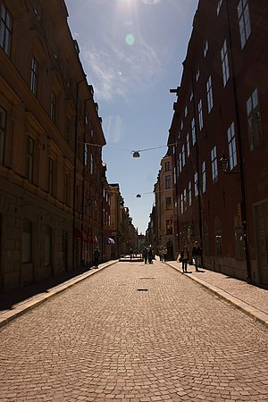 Stora Nygatan - Stora Nygatan in May 2005.