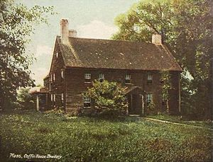 Coffin House - Coffin House circa 1907.