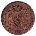 Coin BE 1c Leopold II lion obv NL 28.png