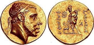 Pharnaces I of Pontus - Image: Coin of Pharnaces I of Pontus, Amisos mint